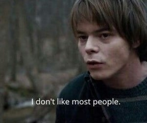 stranger things, quotes, and charlie heaton image