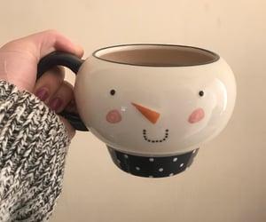 christmas, tea, and mug image