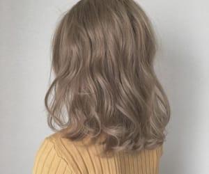 fashion, korean, and hair image
