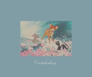 background, bambi, and blue image