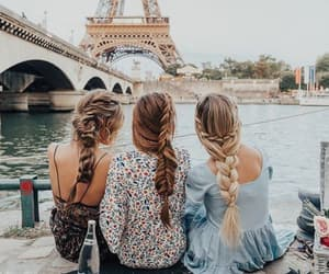 paris, friends, and girl image