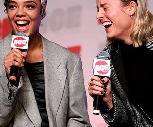 tessa thompson and brie larson image
