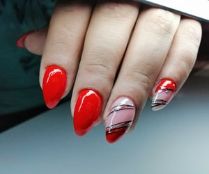 beauty, nails, and sexi image