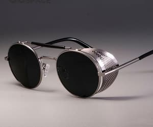 eyeglasses, sunglasses, and round sunglasses image