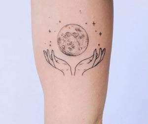 aesthetic, details, and moon image