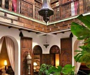 architecture, decor, and marrakech image