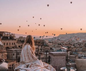 travel, sunset, and summer image