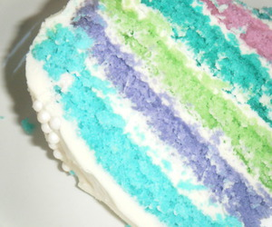 blue mint, cake, and delicious image