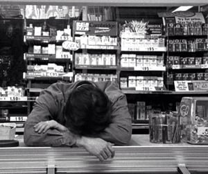 black and white, jay, and clerks image
