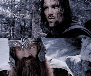 aragorn, lord of the rings, and scene image