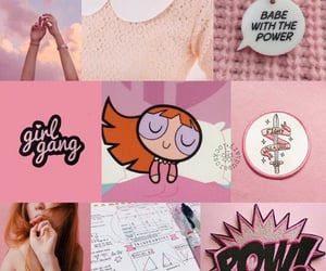 background, pink, and powerpuff girls image