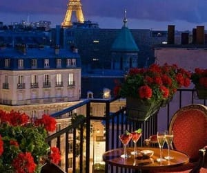 paris, romantic, and france image