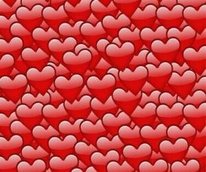 heart, wallpaper, and emoji image