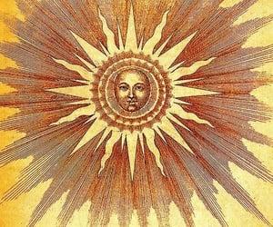 sun, hippie, and art image