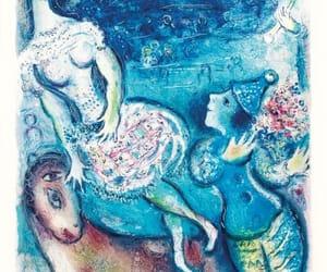 blue, vintage, and art image