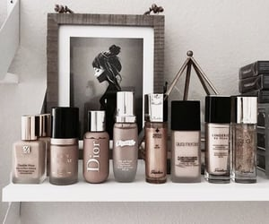 makeup, cosmetics, and beige image