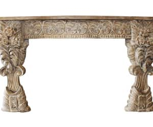 console, eclectic, and vintage furniture image