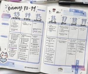 planner, bujo, and bullet journal image
