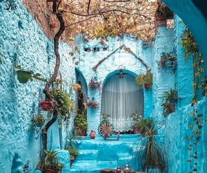 blue, house, and architecture image