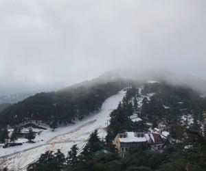 Algeria, fog, and mountain image
