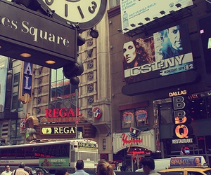 times square, city, and new york image