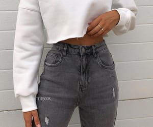 outfit, clothes, and girl image