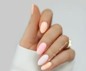 nail, polish nail, and love image
