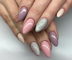love it, polish nail, and nail image