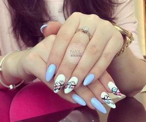 cool, love it, and polish nail image