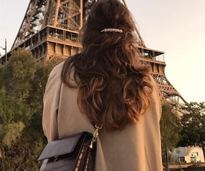 paris, hair, and style image