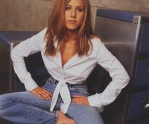Jennifer Aniston, 90s, and friends image