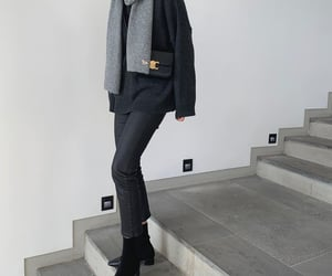 fashion, grey, and minimal image