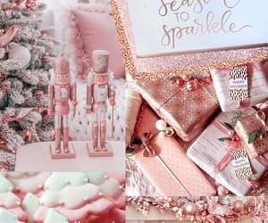 aesthetic, background, and christmas image