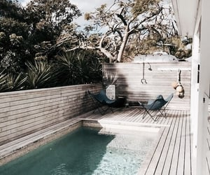 pool, summer, and goals image