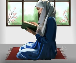 arabic, dz, and hijab image