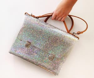 etsy, rainbow glitter, and sequin bags image