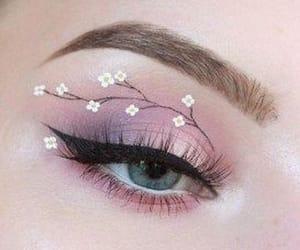 eye, eye makeup, and fashion image