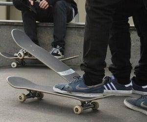 boy, skate, and nike image