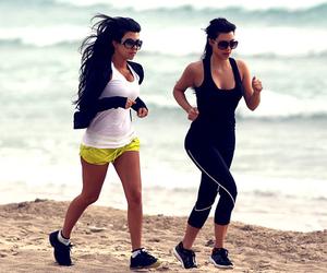 beach, celebrities, and celebs image