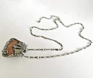 sterling silver, art nouveau pendant, and doug paulus image