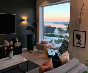 cozy, decor, and home image