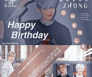 kpop, zhong chenle edit, and kpop edit image