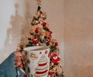 christmas, coffe, and photography image