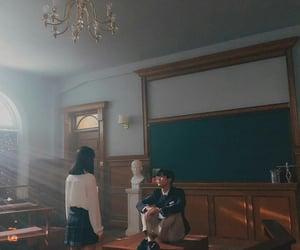 couple, drama, and galaxy image