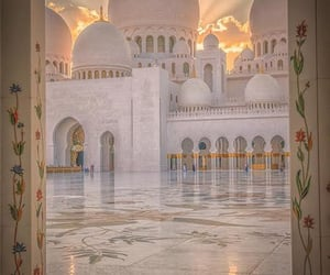 architecture, mosquee, and مسلم image