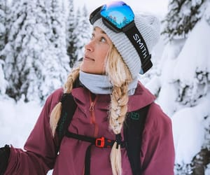 nature, Skiing, and snow image