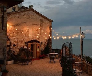coast italy and dining patio image