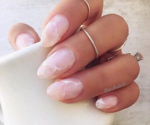 nails, marble, and nail art image