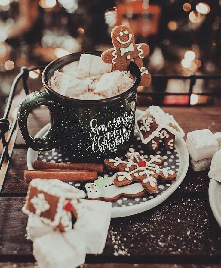 article, hot chocolate, and cake image