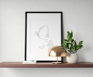 abstract, wall art, and wall poster image
